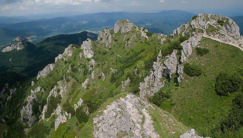 Mala Fatra, Eslovaquia imágenes de archivo libres de regalías
