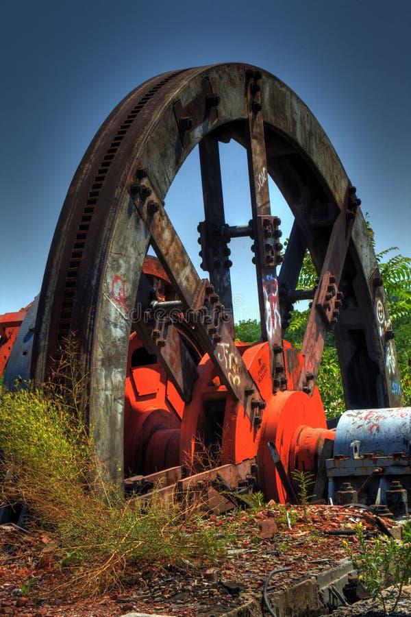 mala gammalt stål fotografering för bildbyråer