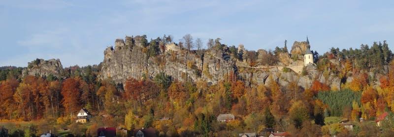 Mala-skala, böhmisches Paradies, Tschechische Republik lizenzfreie stockbilder