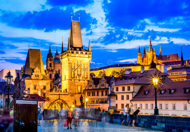 Mala Strana, Πράγα, Τσεχία στοκ εικόνες