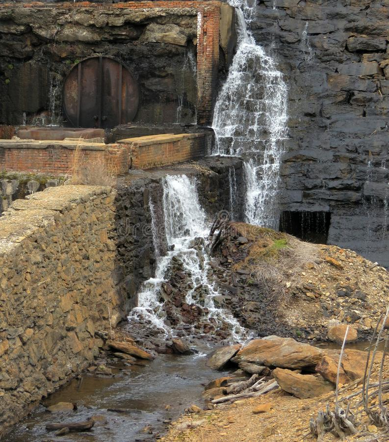 Mala vattenfallet arkivbilder