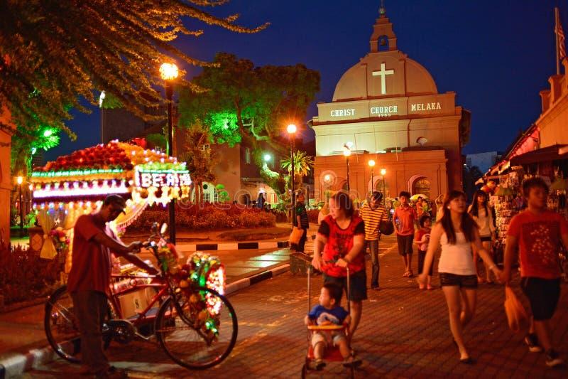 MALACCA, ΜΑΛΑΙΣΙΑ στοκ φωτογραφίες