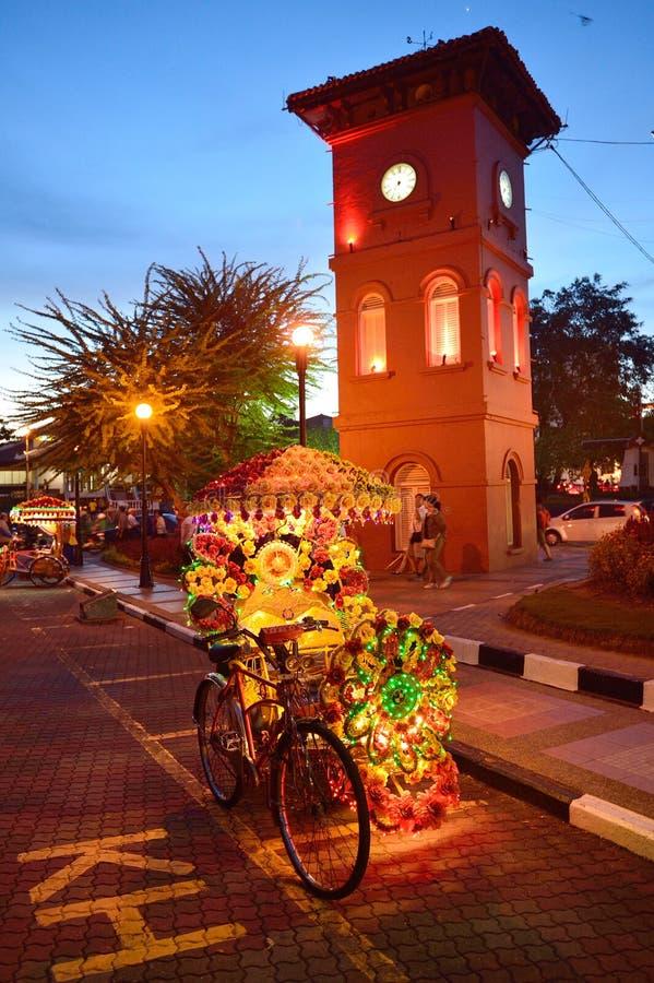 MALACCA, ΜΑΛΑΙΣΙΑ στοκ εικόνα με δικαίωμα ελεύθερης χρήσης