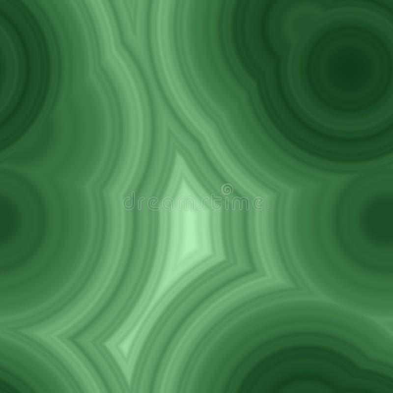 Malachit - nahtlose Hintergrundoberfläche lizenzfreie abbildung