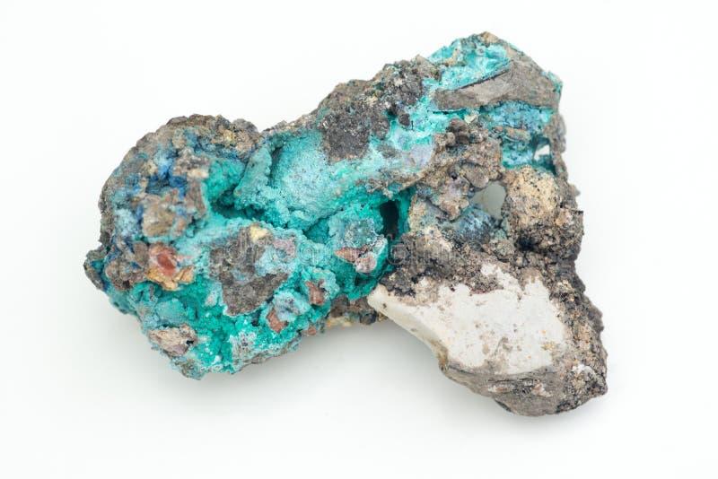 Malachite con azzurrite immagine stock libera da diritti