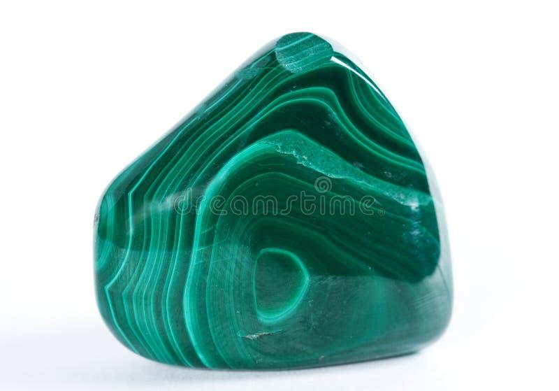 Malachite de minarala d'échantillon image libre de droits