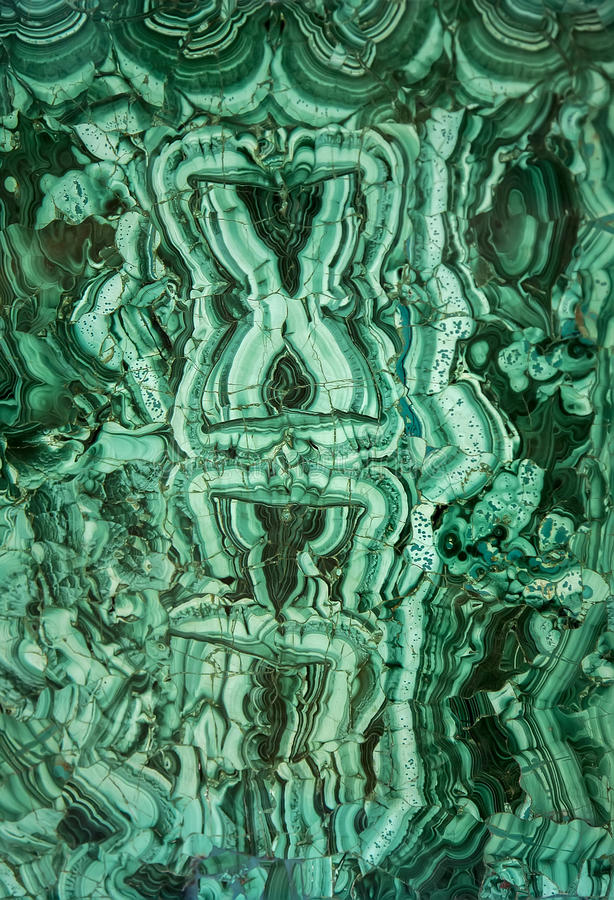 Malachite. Green mineral malachite close up royalty free stock image