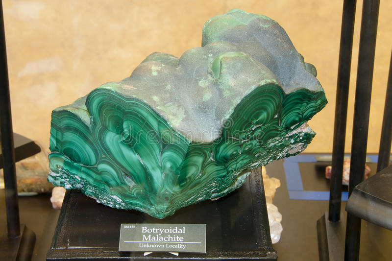 Malachite Mineral stock photos