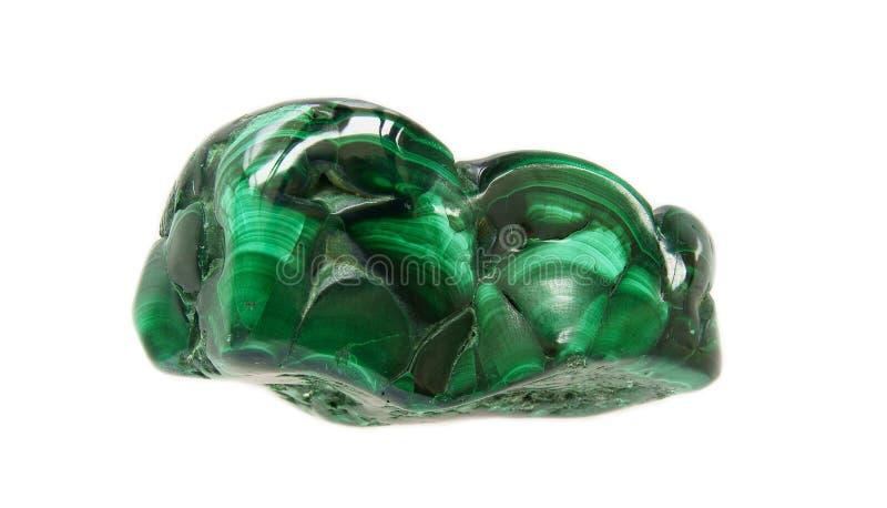 Malachite vert-foncé photo stock