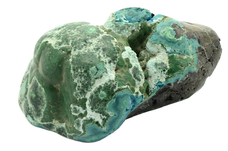 Malacholla gemstone arkivbild