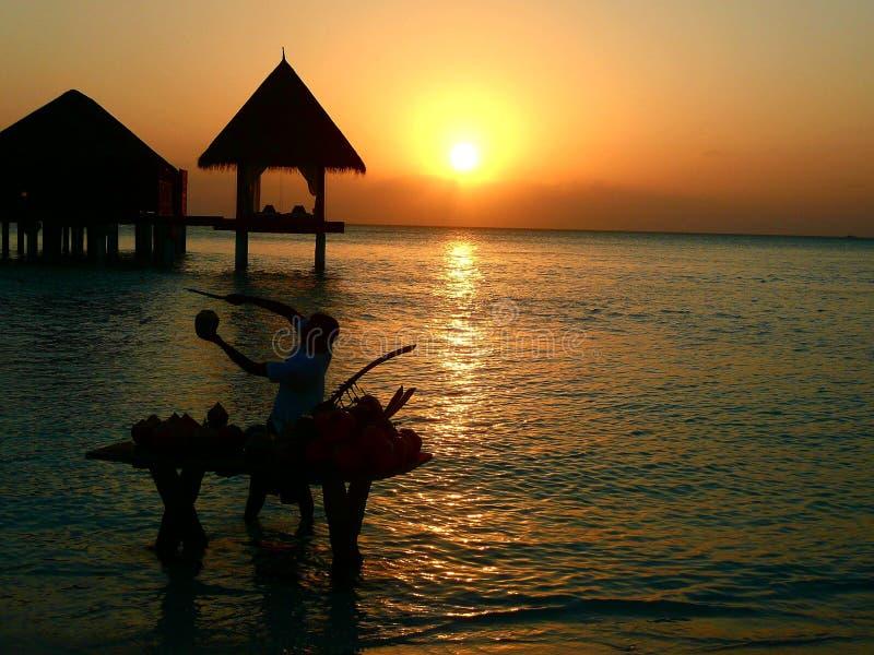 Maladives obraz stock