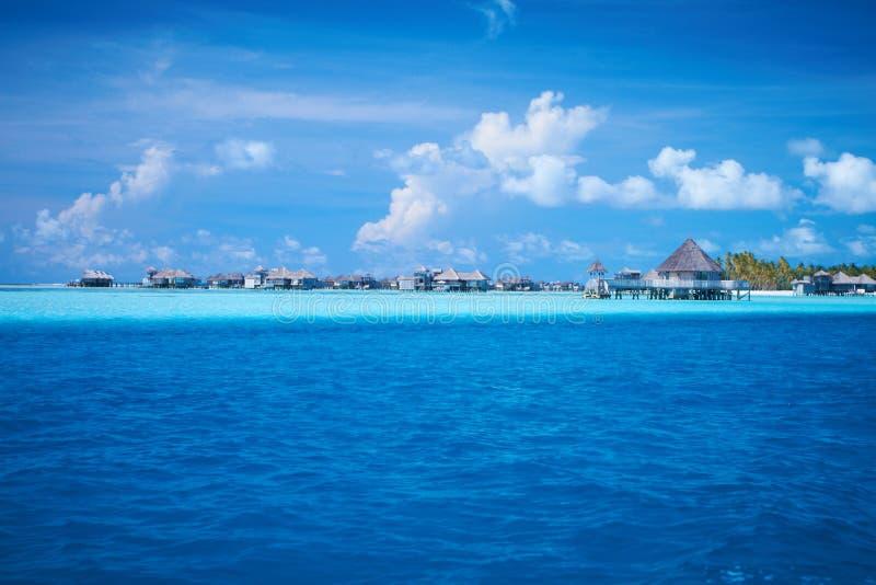 Maladivian Resort stock image