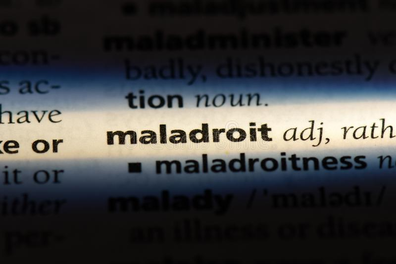maladroit photos stock