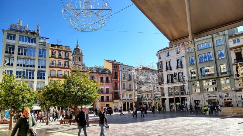 Malaga immagini stock