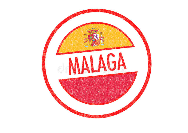 Malaga illustration de vecteur