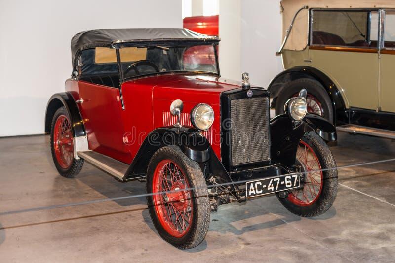 Malaga bilmuseum i Spanien arkivbilder