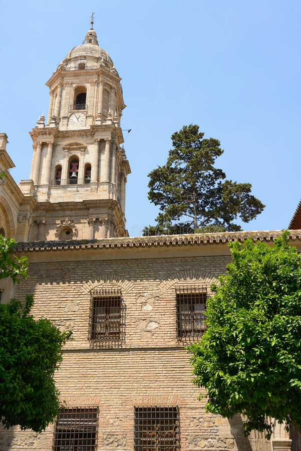 Download Malaga cathedral stock image. Image of ancient, building - 26206657