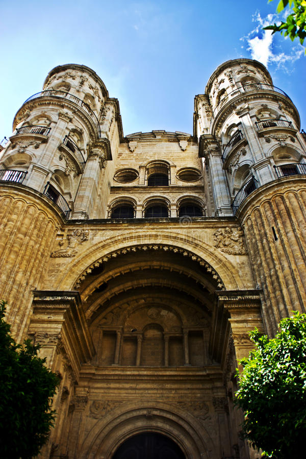 Download Malaga cathedral stock photo. Image of city, town, urban - 34018488