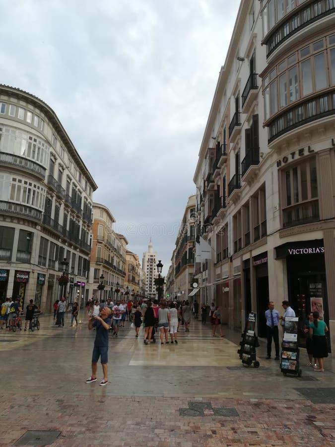 Malaga spain royalty free stock photography