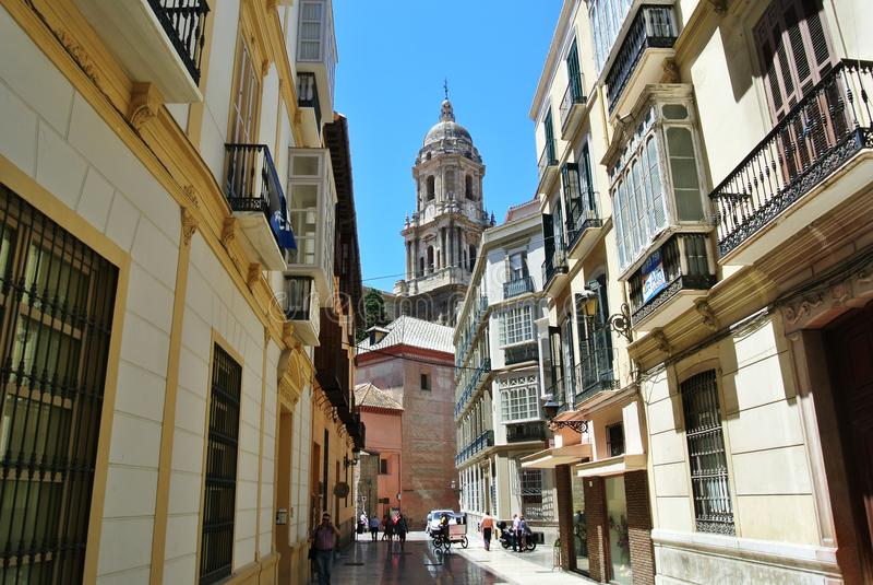 Malaga, Espagne - juillet 2014 image stock