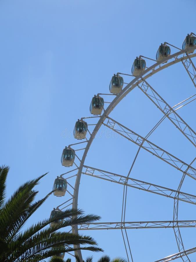 Malaga Ferris Wheel royaltyfria foton