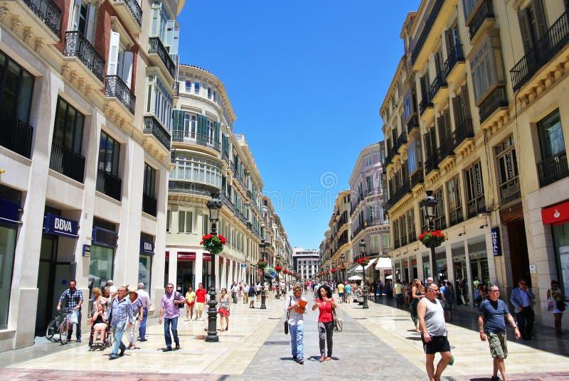 malaga Hiszpanii obrazy stock