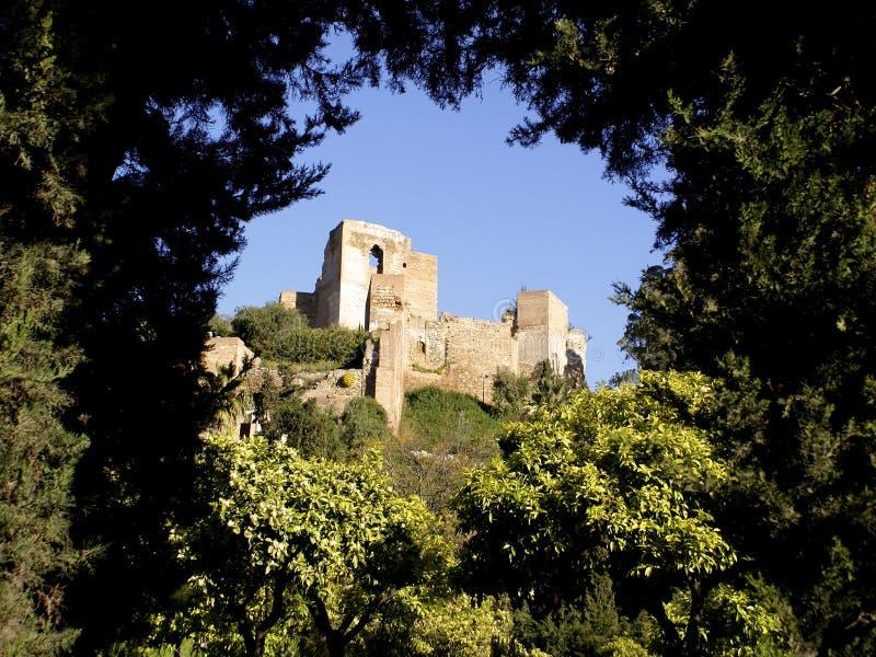 malaga Hiszpanii zdjęcie stock
