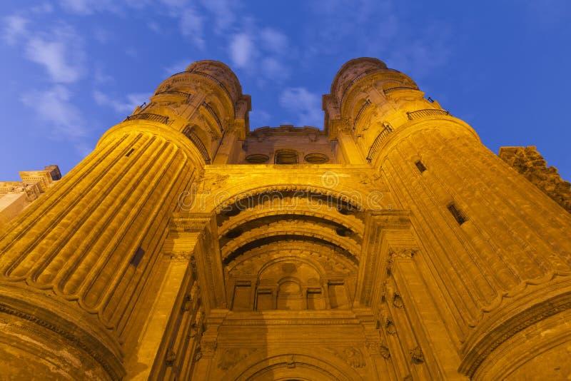 Malaga katedra zdjęcia royalty free