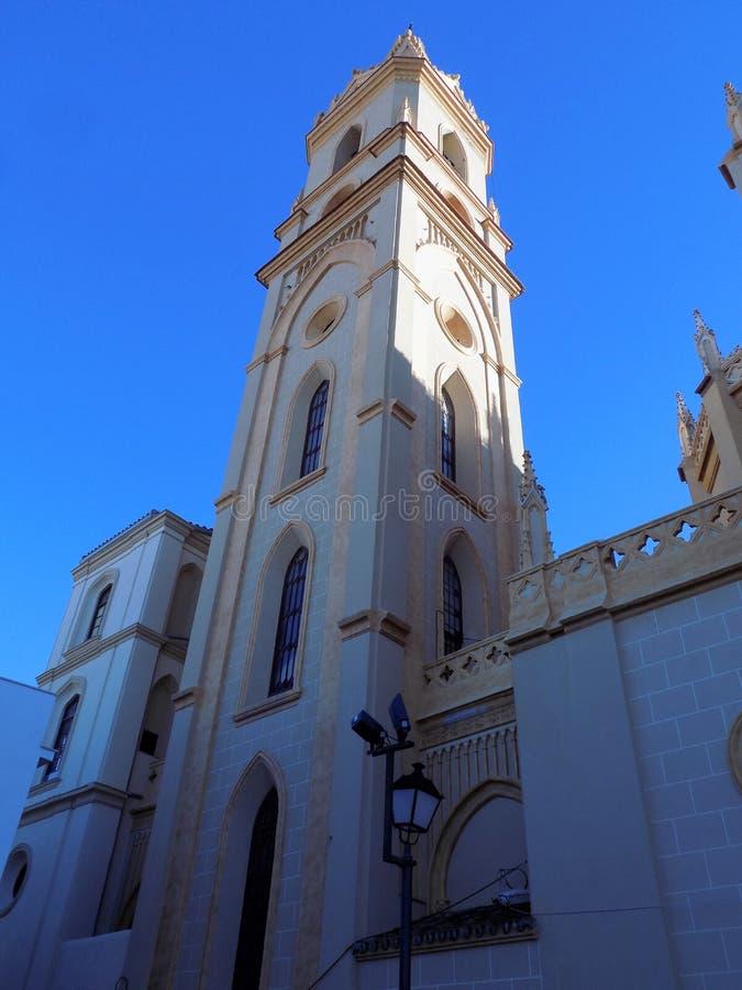 Malaga-kyrka av - LA-TRINIDAD royaltyfri bild
