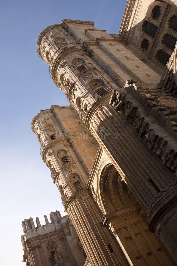 Malaga, Spagna fotografia stock libera da diritti