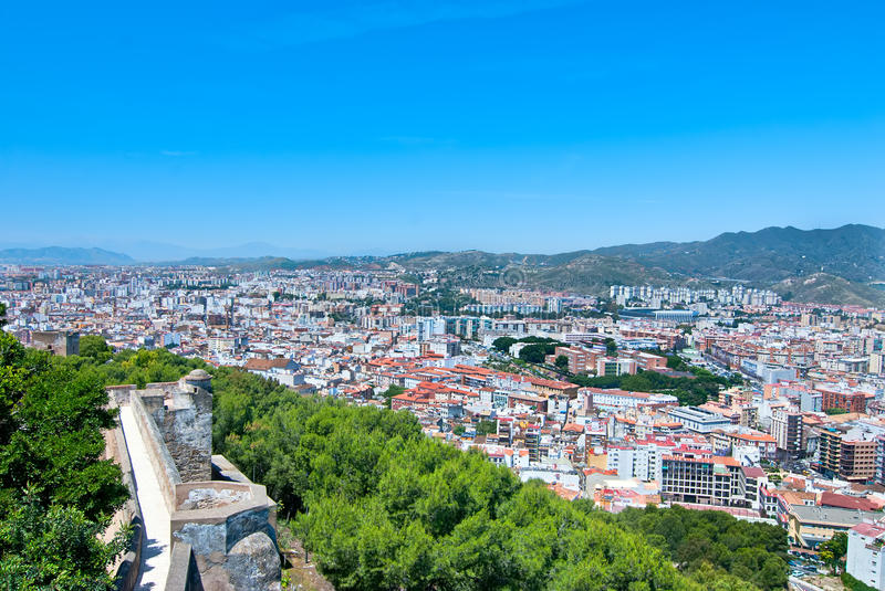 Download Malaga. Spain. stock image. Image of stone, spain, city - 25632203
