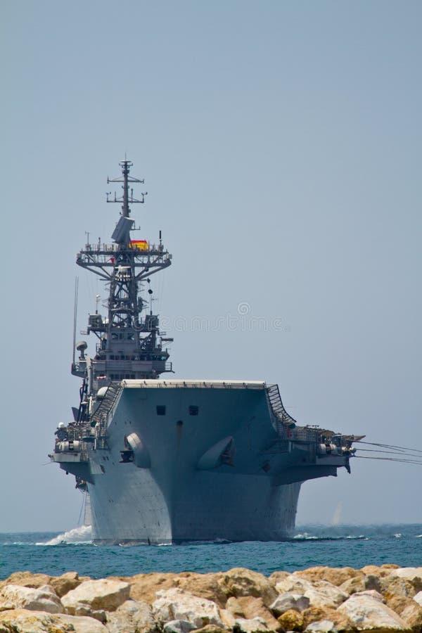 Aircraft carrier Principe de Asturias royalty free stock images