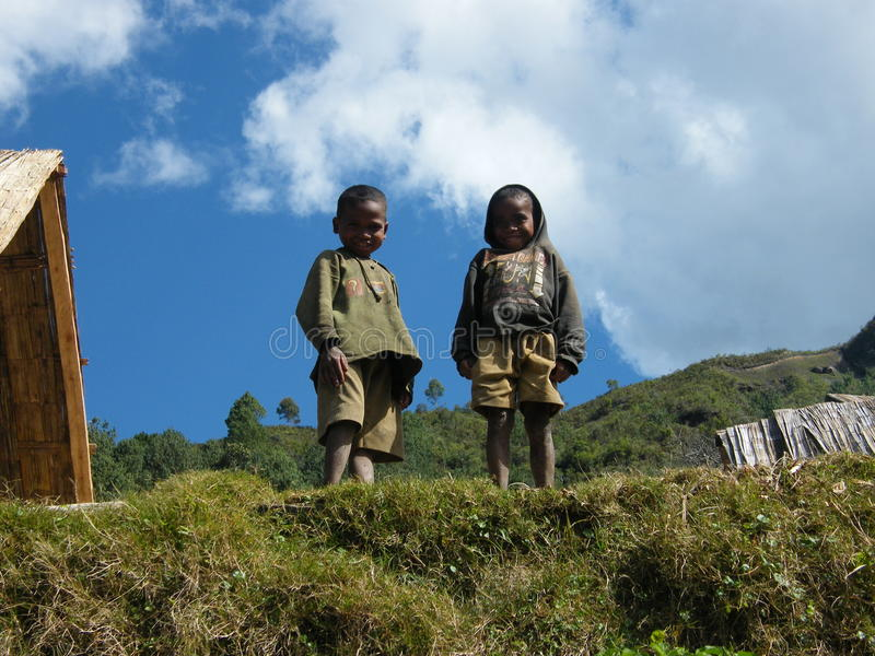 Malagasy Native Children royalty free stock photography