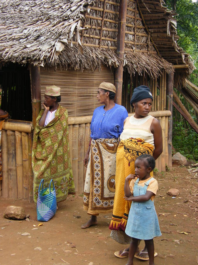 Malagasy native people royalty free stock photo