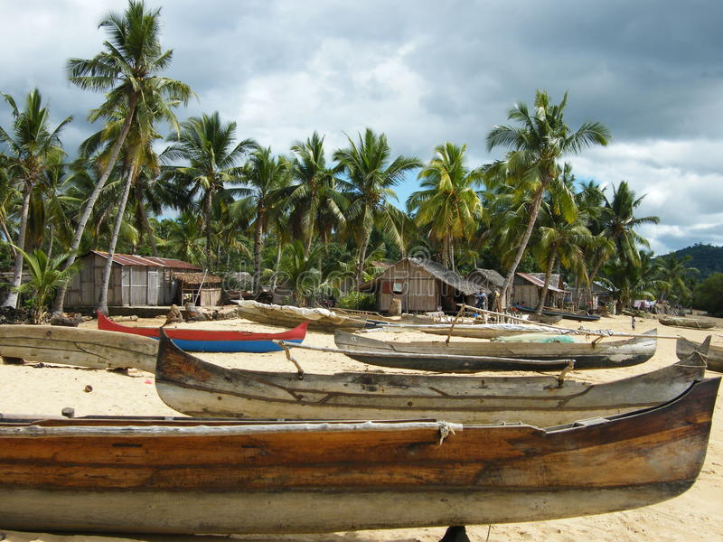 Download Malagasy Village stock image. Image of tropical, cabins - 20396991