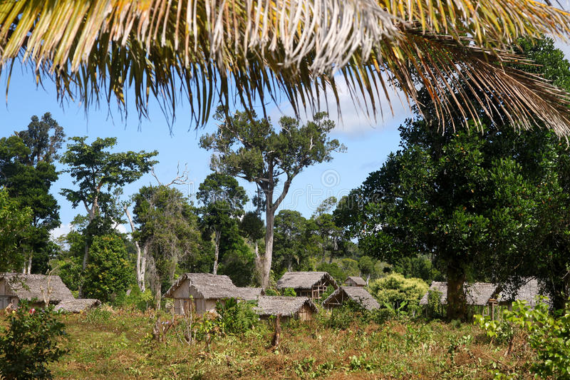 Small Malagasy Village Stock Photos