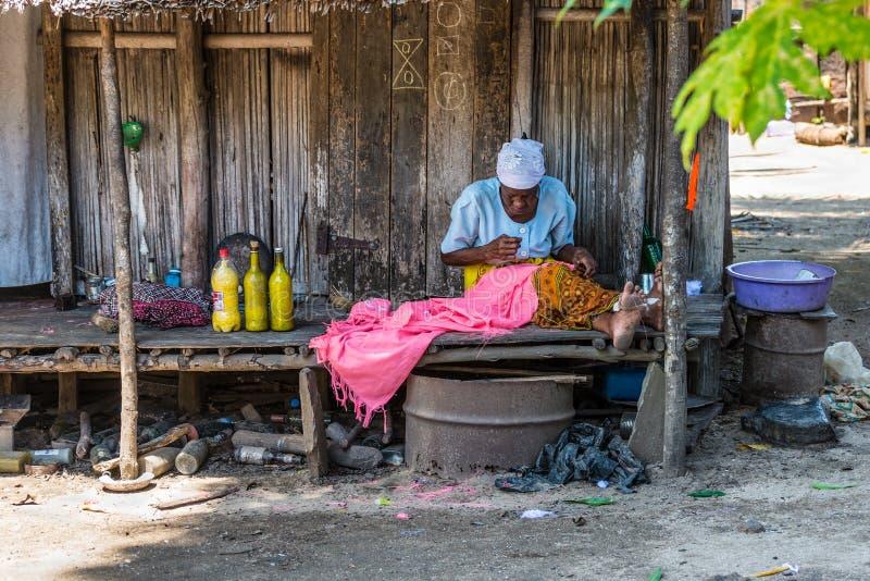 Malagasy woman stock photos