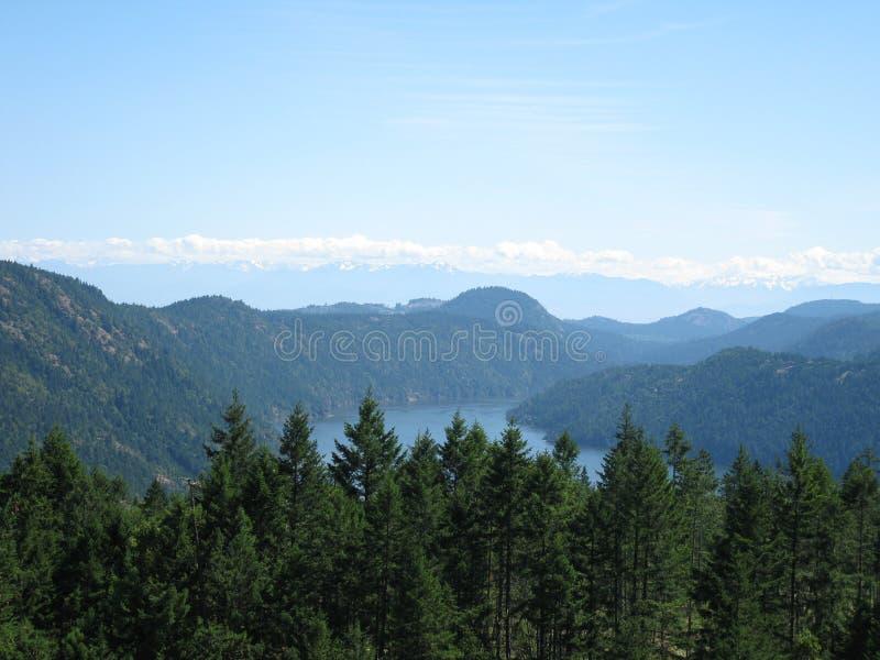 Malahat-Becken, Britisch-Columbia stockfotos