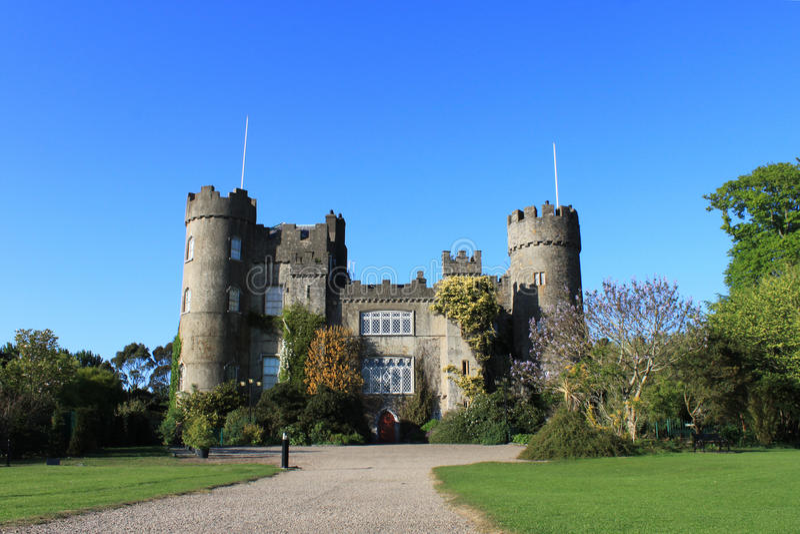 Download Malahide Castle, Dublin. stock photo. Image of county - 19348920
