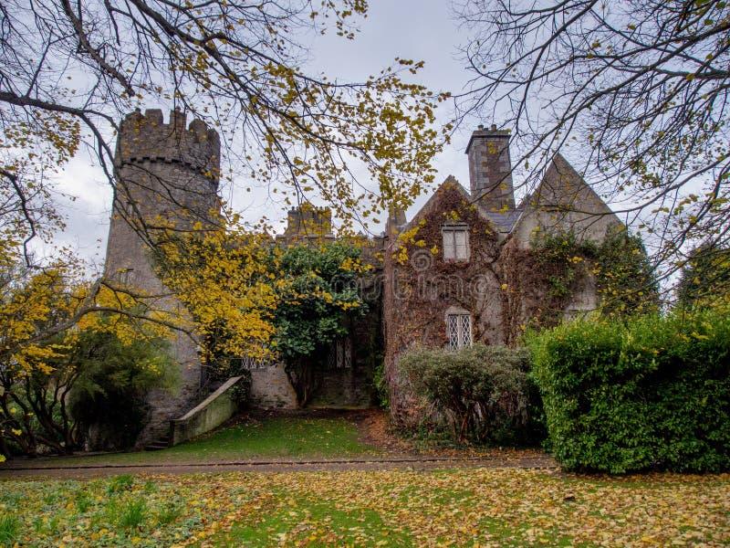 Download Malahide Castle in Ireland stock photo. Image of norman - 28150654