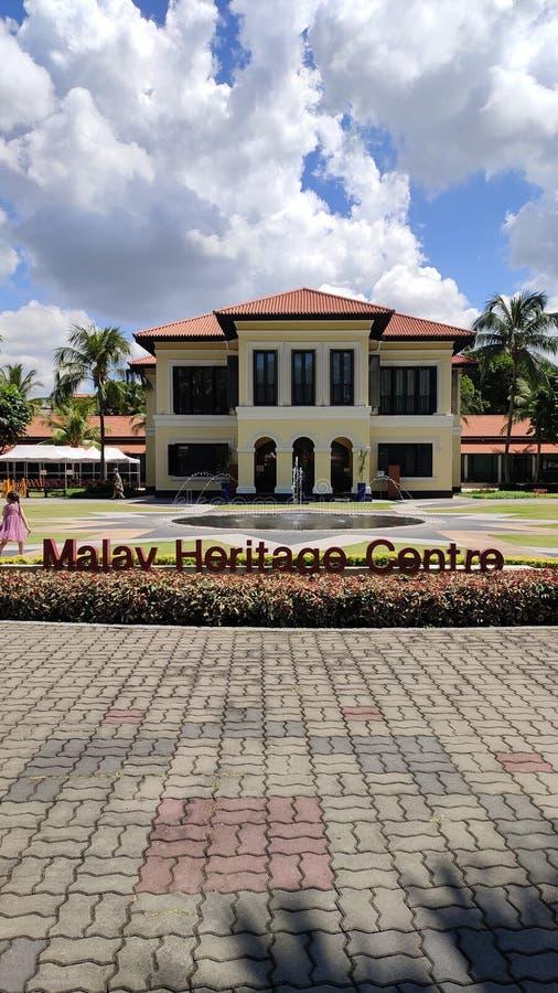 Malajiska arvmitt i Singapore arkivbilder