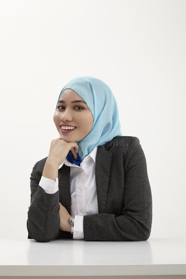 Malajska biznesowa kobieta fotografia stock
