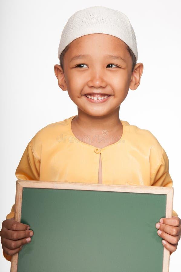 Śliczna Muzułmańska chłopiec fotografia stock