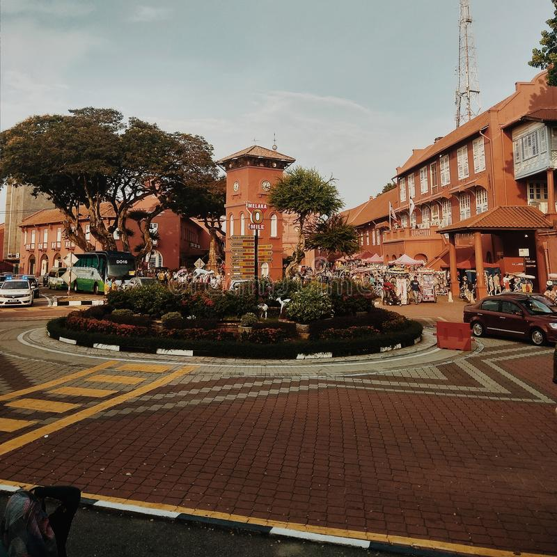 Malaka street stock images