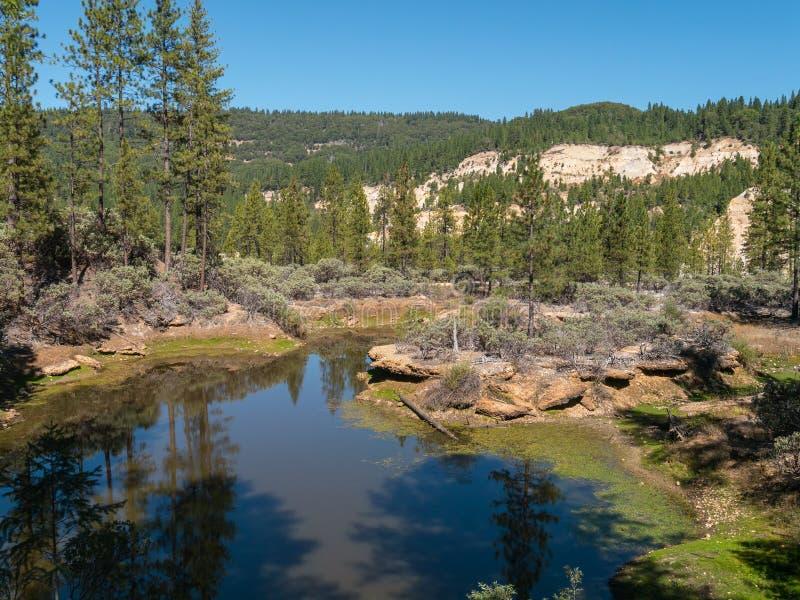 Malakoff Diggins国家公园 免版税库存照片