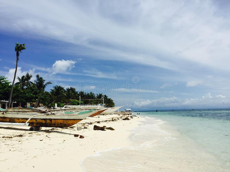Malapascua Island in Cebu stock image