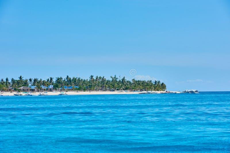 Malapascua wyspa Cebu Filipiny zdjęcie royalty free
