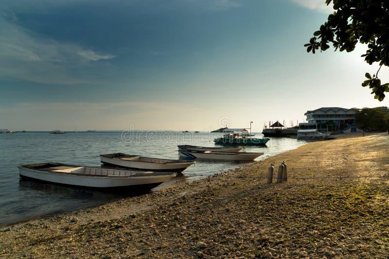 Malapascua wyspa Filipiny fotografia royalty free