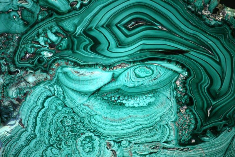 Malaquita como fondo foto de archivo libre de regalías