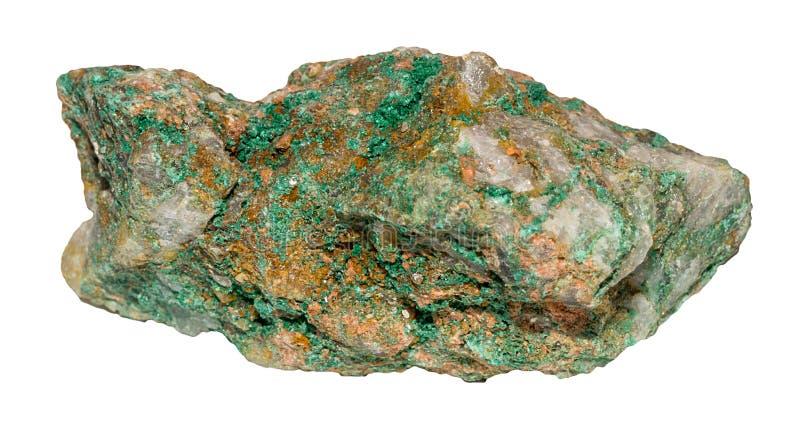 Malaquita verde clara foto de archivo libre de regalías